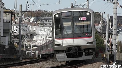 東急東横線 菊名-妙蓮寺 (錦が丘)